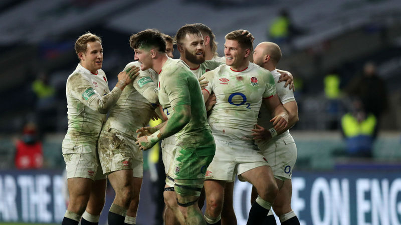 England 22-19 France: Misfiring Farrell secures Autumn Nations Cup success