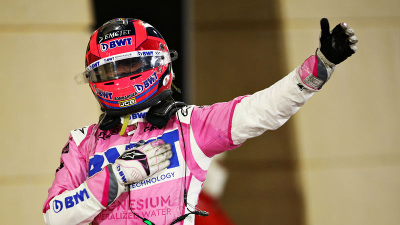 F1 2020: Perez claims first win after Mercedes error denies Russell