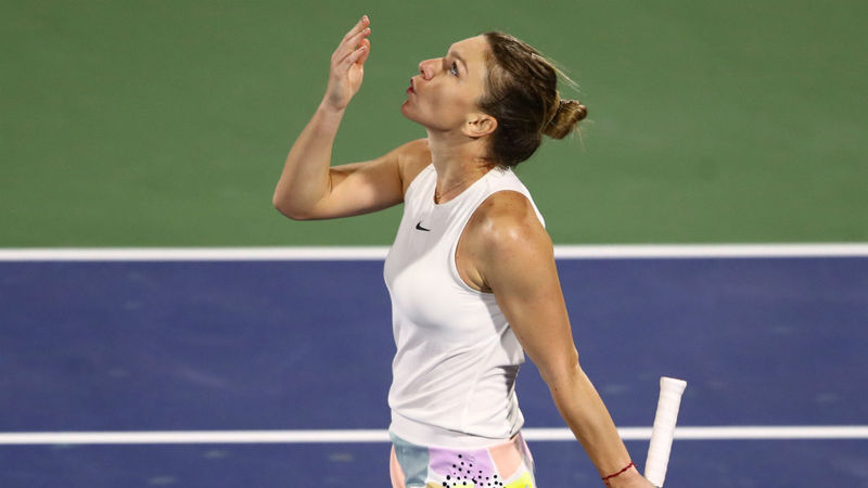 Halep passes major Jabeur test in Dubai