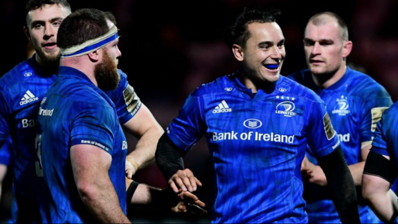 Leinster set new Pro14 record with victory over Ospreys