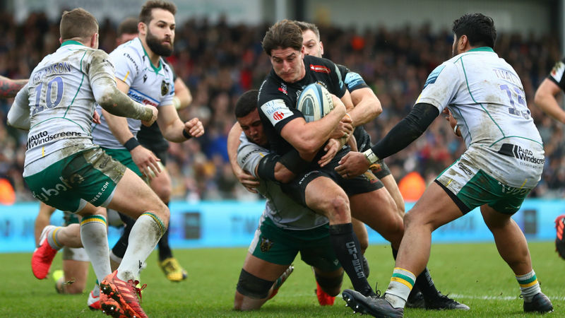 Exeter trounce Northampton as statement victory puts Chiefs eight points clear