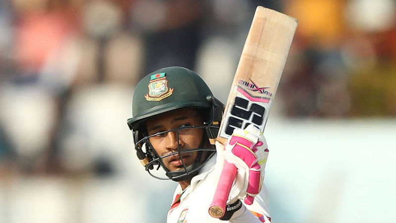 Mushfiqur double century leaves Bangladesh on top