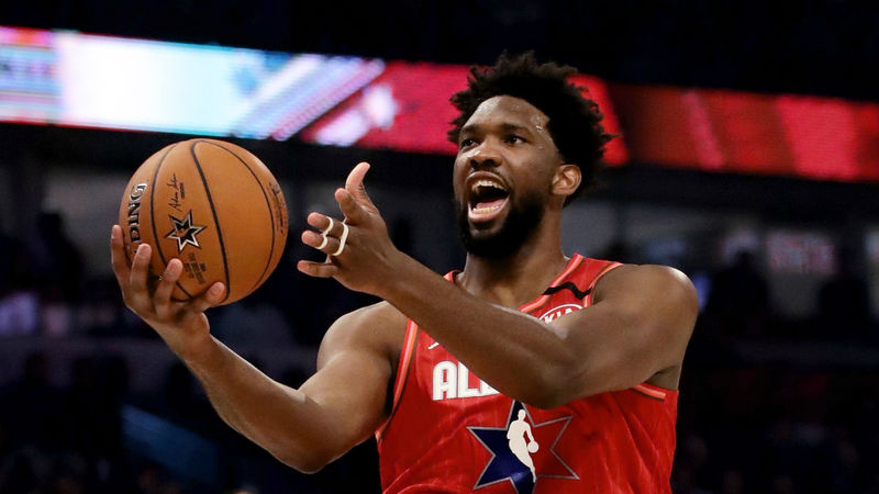 Embiid apologises for middle finger gesture and vows to prove 'best in world' comments