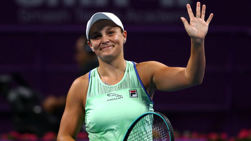Barty powers through as Kenin falls in Qatar