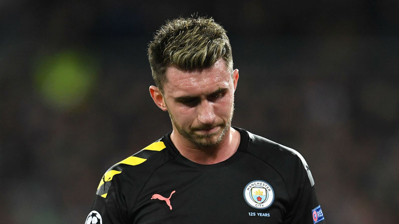 Man City's Laporte out for up to four weeks and will miss Real Madrid visit