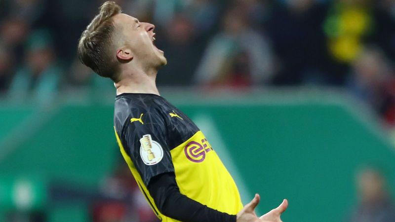 Reus injury blow for Borussia Dortmund