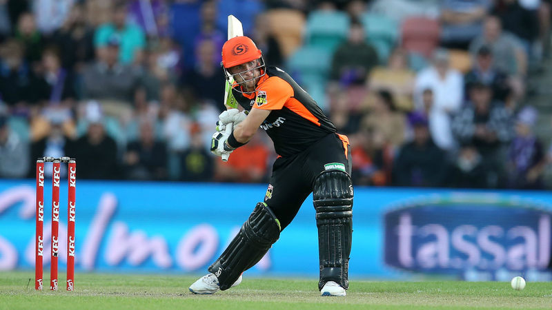 Inglis, Marsh and Richardson do the damage as Scorchers hammer Hurricanes