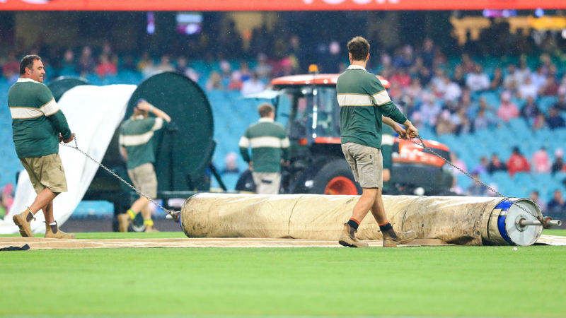 Sixers v Hurricanes abandoned due to rain