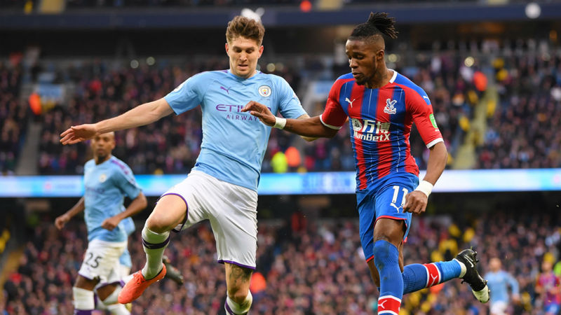 Do not allow Zaha to run - Guardiola slams slack City