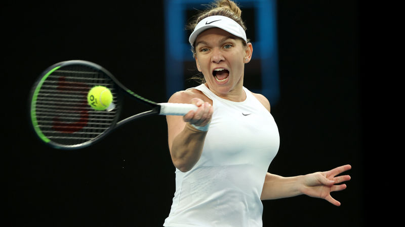 Australian Open 2020: Halep, Pliskova and Kerber through as seeds shine