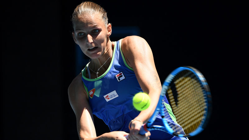 Australian Open 2020: Pliskova follows Osaka and Serena out of Melbourne in another upset