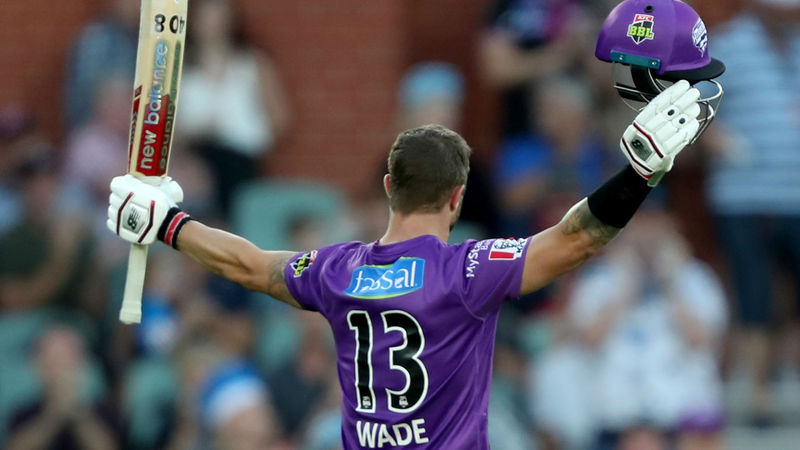 Inspirational Wade hits emphatic ton to secure Eliminator spot for Hurricanes