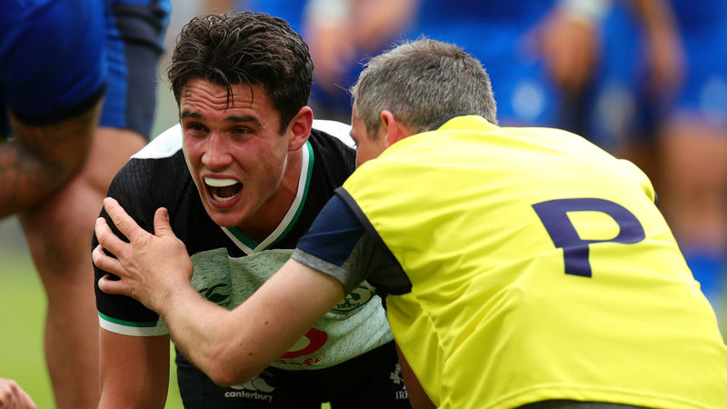 Ireland fly-half Carbery out of Six Nations