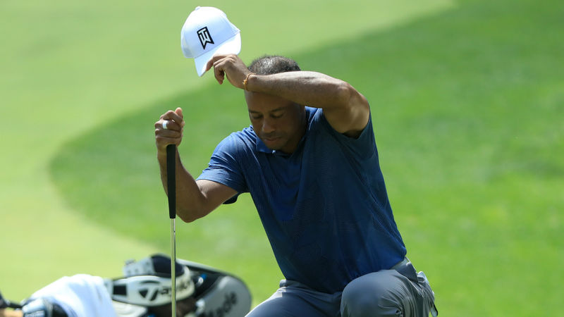 Tiger Woods: Ageing isn't fun, I'm just trying to hold on after back struggles at Memorial