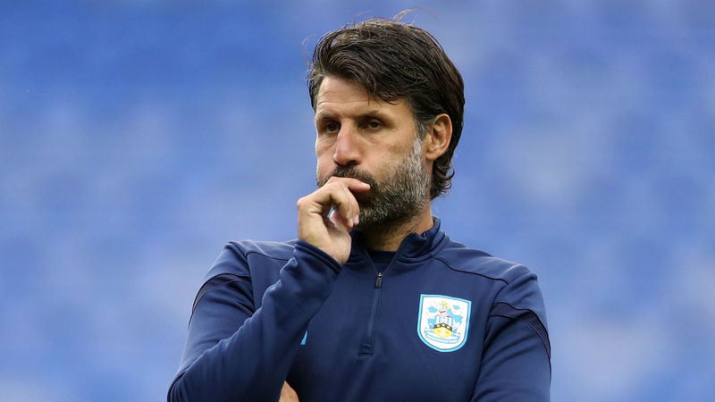 Danny Cowley sacked as Huddersfield Town manager