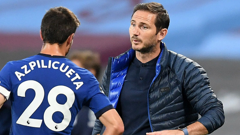 Chelsea have a lot of hard work to catch Liverpool and Man City, says Lampard
