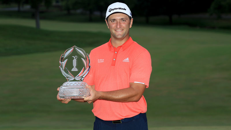 Rahm honoured to join Ballesteros after claiming top ranking