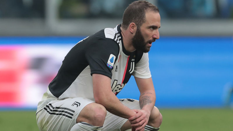 Higuain out of Juve's trip to Udinese