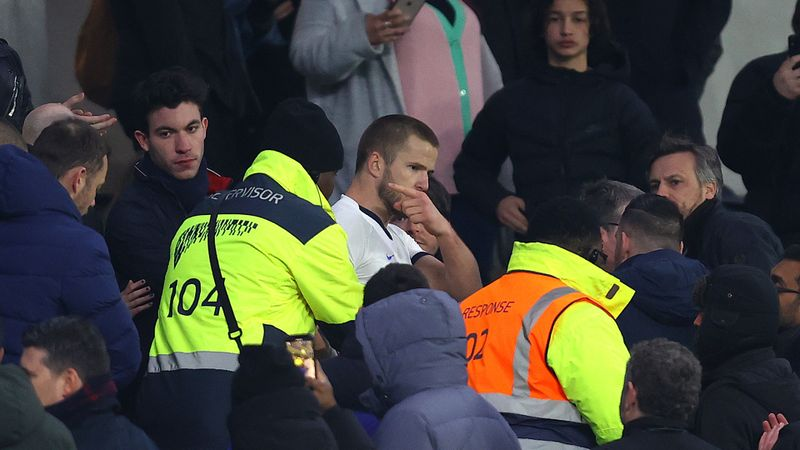Eric Dier hit with four-match ban after fan altercation