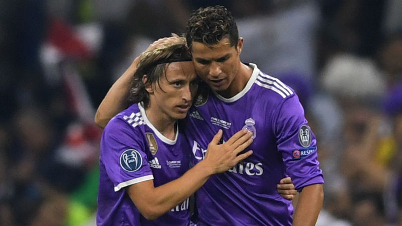 Ronaldo's goals and character have been missed at Madrid, admits Modric