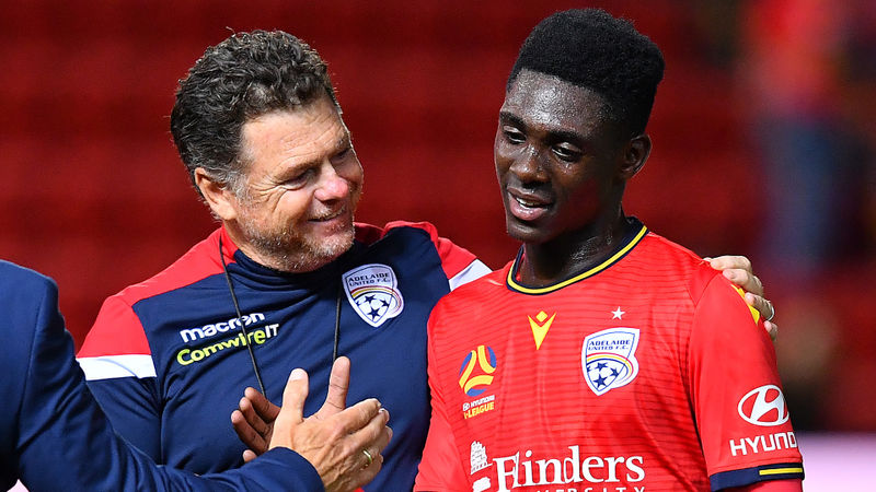 Adelaide United appoint Veart as interim head coach