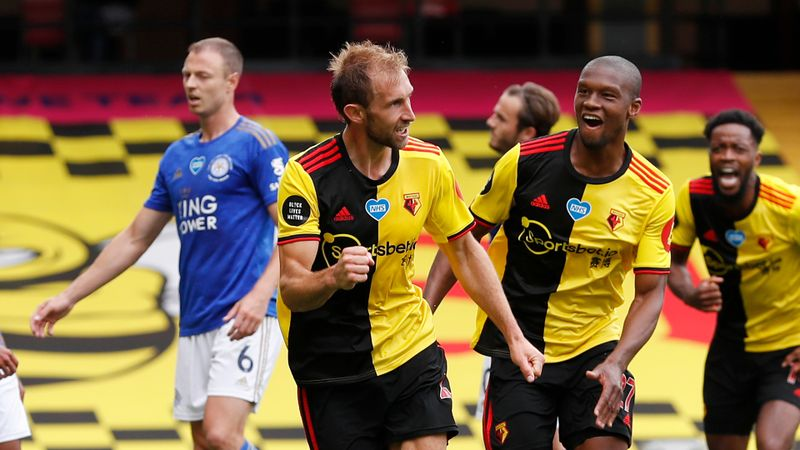 Watford 1-1 Leicester City: Late Dawson & Chilwell stunners see spoils shared