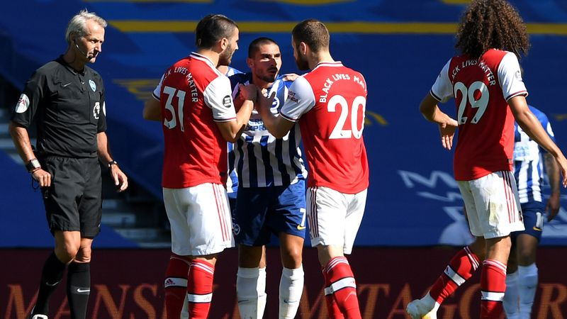Maupay taunts Arsenal: They got what they deserved