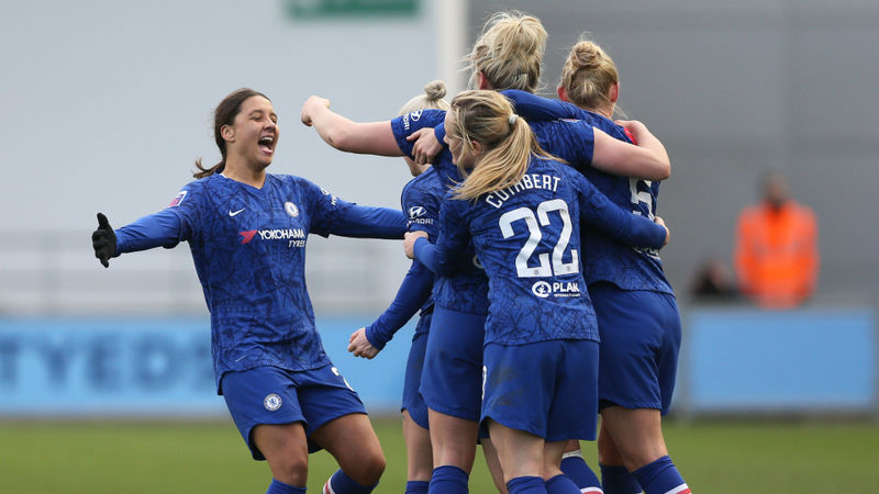 Chelsea champions, Liverpool relegated - WSL decided on points-per-game