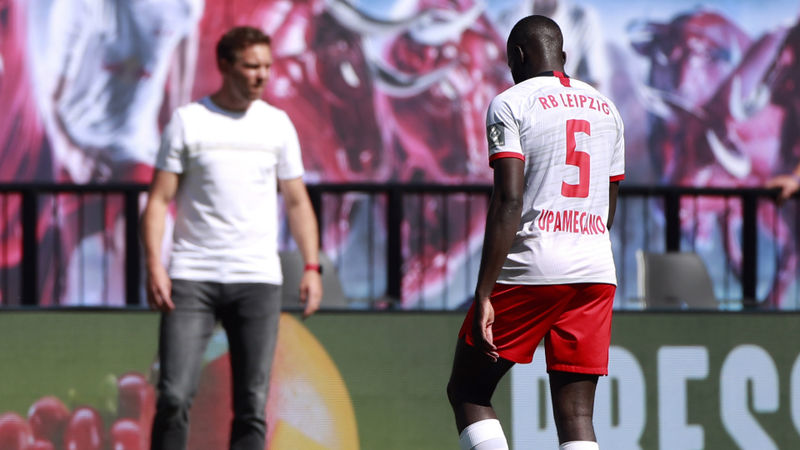 Kampl rues 'unnecessary' Upamecano red card