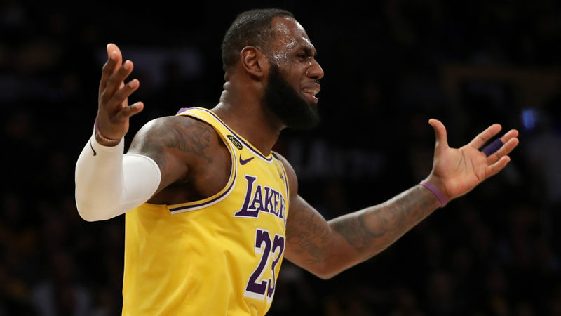 Nets stun LeBron's Lakers as Clippers and Rockets soar, Celtics clinch
