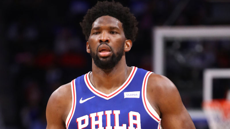 Embiid stars on return for 76ers before NBA season suspended