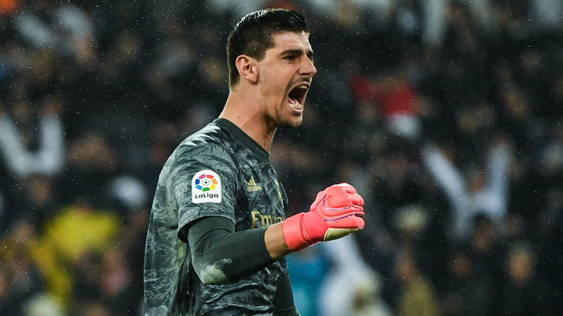 Thibaut Courtois believes Real Madrid risk paid off against Barcelona
