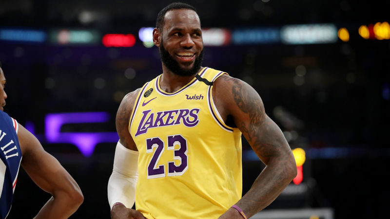 Lakers beat 76ers, LeVert's 51 points lift Nets past Celtics