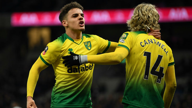 Tottenham 1-1 Norwich City (aet, 2-3 on pens): Krul stars in shoot-out to take Canaries into FA Cup quarter-finals