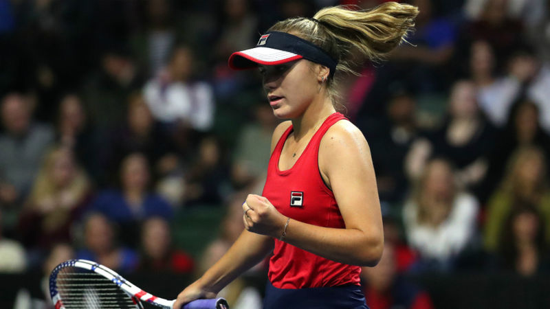 Kenin comfortable but Cornet beaten in Lyon