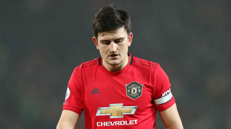 Harry Maguire a doubt for Manchester derby with ankle injury