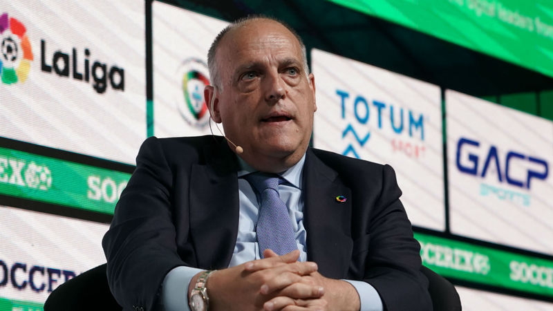 Coronavirus: Tebas hopes LaLiga can resume on June 12, expects football every day for 35 days