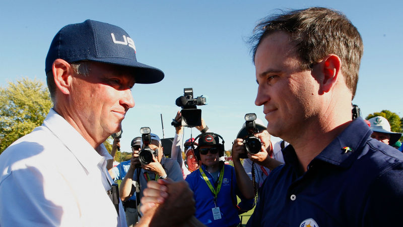 Davis Love III and Zach Johnson named US Ryder Cup vice-captains