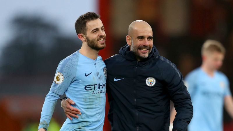 Guardiola one of the best managers ever – Man City's Bernardo Silva
