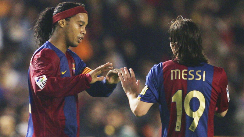 Ronaldinho over Messi for Cardetti: He's touched by God
