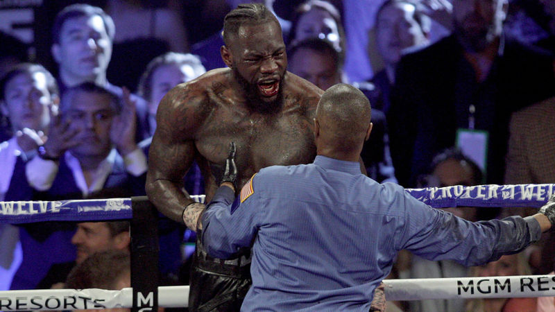 Wilder demands rematch with Fury: Be a man and honour your agreement!