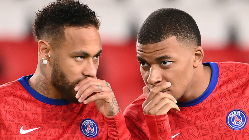 PSG looking to ramp up contract talks with Neymar, Mbappe
