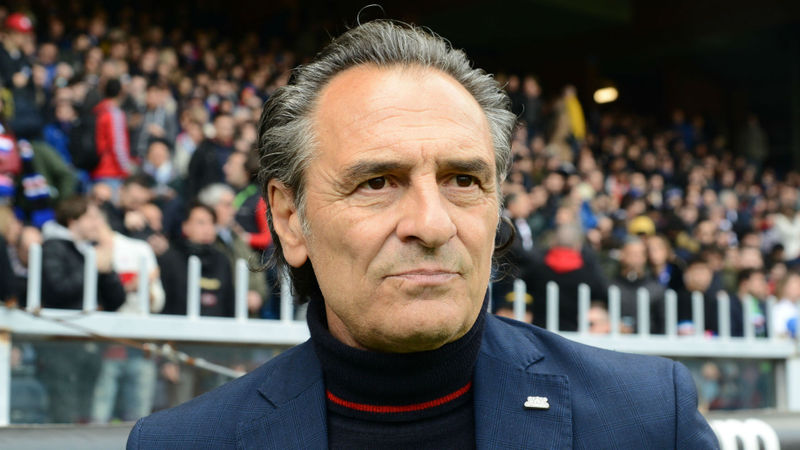 Prandelli back at Fiorentina for second spell in charge as Iachini is sacked