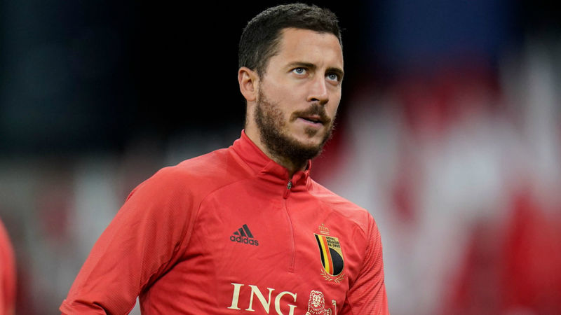Hazard's positive COVID-19 test disappointing, says Belgium boss Martinez