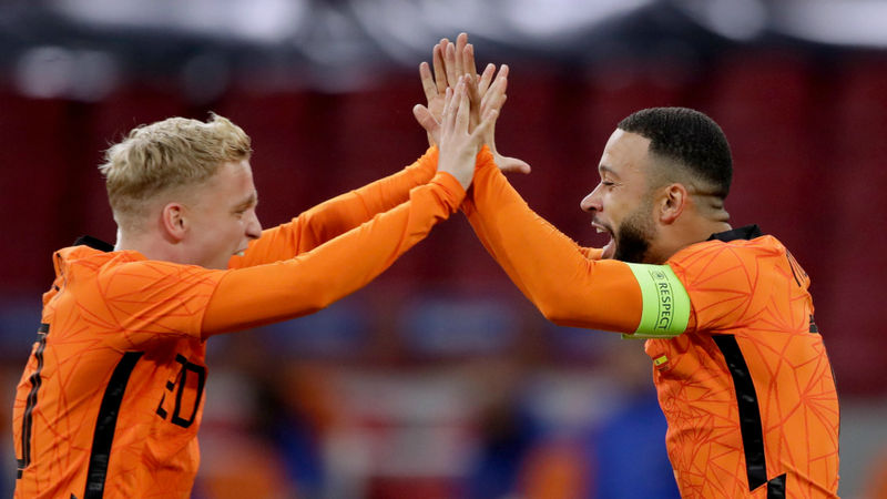 Netherlands 1-1 Spain: Van de Beek scores again to cancel out maiden Canales strike
