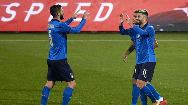 Italy 4-0 Estonia: Grifo hits brace as Azzurri stretch unbeaten run to 20 games