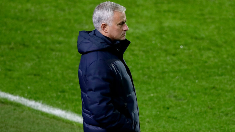 Spurs boss Mourinho hit with one-game UEFA ban