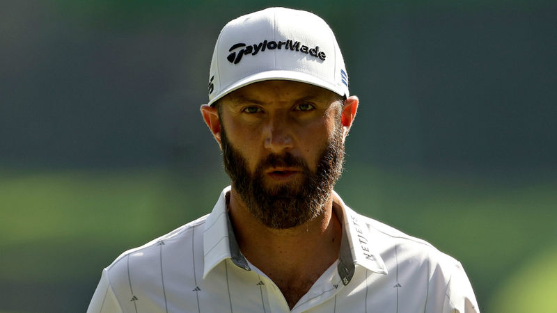 The Masters: Dustin Johnson confident of ending 54-hole major lead hoodoo