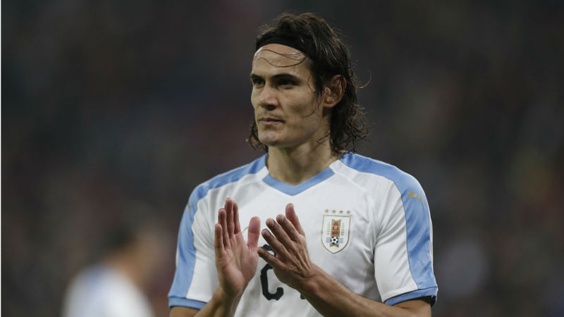 Marquinhos warns Brazil to be wary of 'great' Cavani