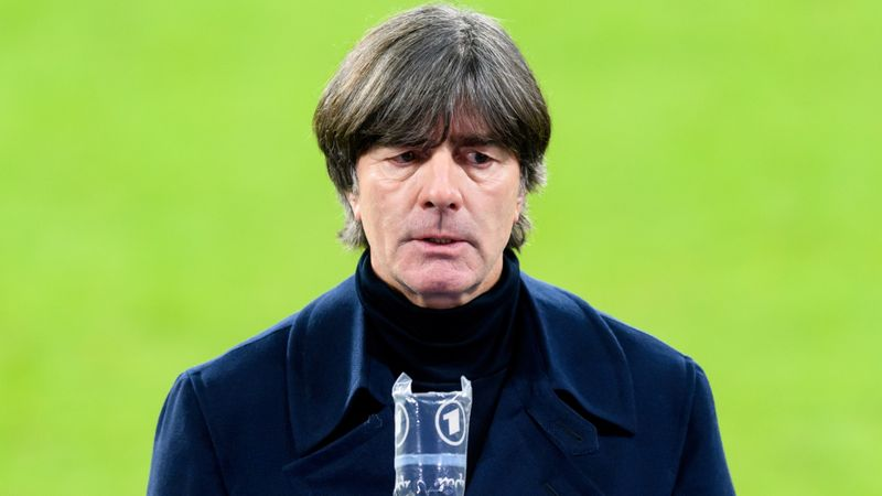 Low has support of DFB president despite Germany's thrashing by Spain